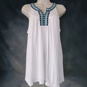 Lucky Brand - Boho Embroidered Tank Top